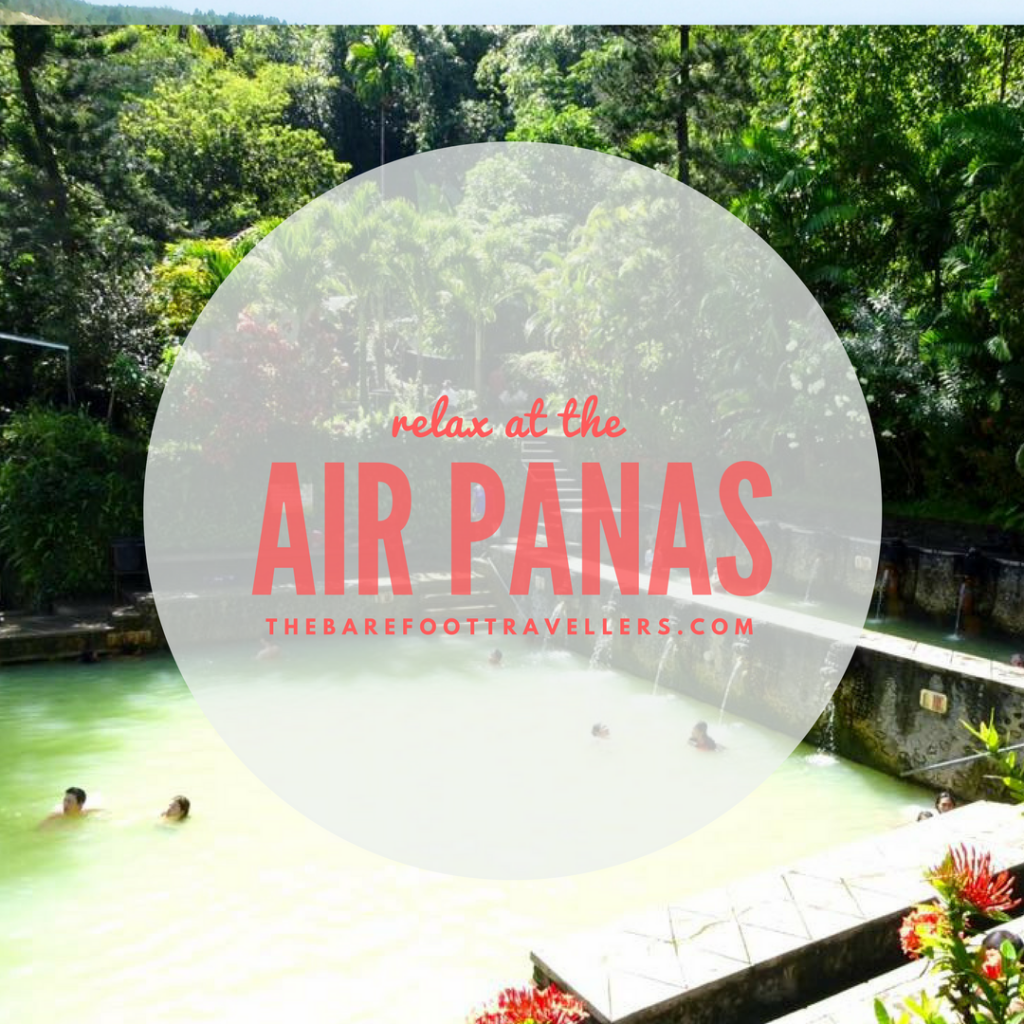 Relax at the Air Panas, Banjur Hot Water Springs